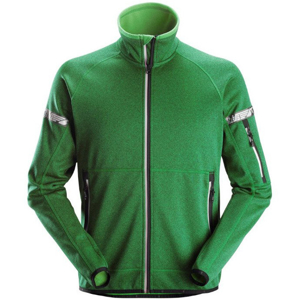 8004 Kurtka polarowa AllroundWork 37.5® kolor: zielony Snickers Workwear