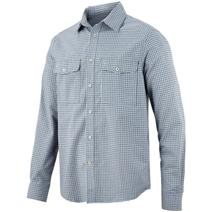 8507 Koszula Comfort AllroundWork (kolor: cloud blue - granat) Snickers Workwear