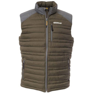 Bezrękawnik CAT APPAREL DEFENDER INSULATED VEST C1320012 ARMY MOSS