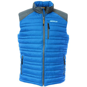 Bezrękawnik CAT APPAREL DEFENDER INSULATED VEST C1320012 BLUE