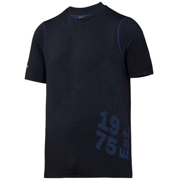 2519 T-shirt FlexiWork 37.5® (kolor: granatowy) - Snickers Workwear