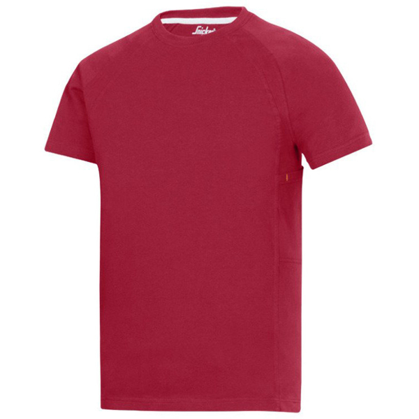 T-Shirt Multipockets™ (kolor: chili) Snickers Workwear