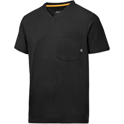 2524 T-shirt AllroundWork 37.5® (kolor: czarny) - Snickers Workwear